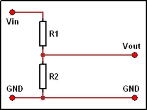 resistor divider circuit circuits