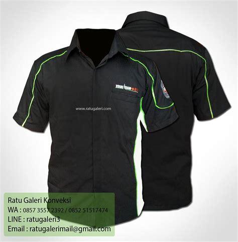 Kaos Jakarta Vespa Hitam Bahan Katun Halus Dan Lembut hasil produksi dan desain kemeja drill tech teamkonveksi surabaya kaos seragam dan pabrik