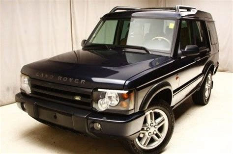 land rover financing new bedford sell used 2004 land rover discovery se 4wd dualsunroofs