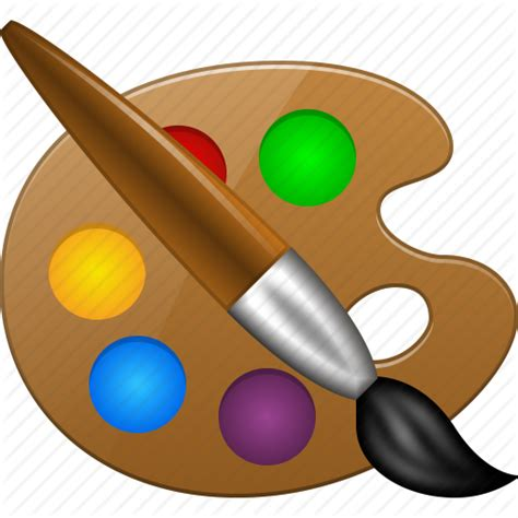 color palette draw layout paint tools paintbrush painter template icon icon search engine