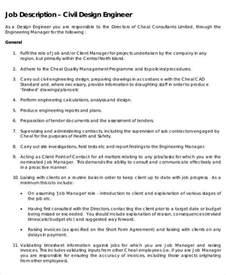 Description Of Civil Engineer by Engineer Description 9 Free Word Pdf Documents Free Premium Templates