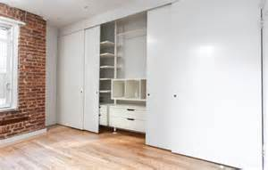 Designer Closet Doors Decorating Ideas Four Panel Sliding Closet Door To The Color Of The White Door Wardrobes Serves