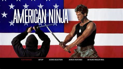 film ninja american en francais american ninja the ultimate collection 1 4 review blu ray