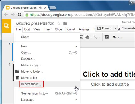 google slides themes to import how to import theme slides in google slides
