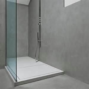 salle de bains en micro b 233 ton microtopping