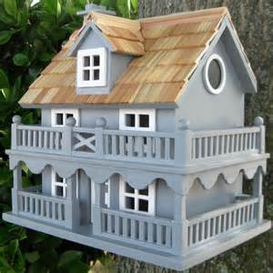 outdoor accents novelty cottage bird house decorative