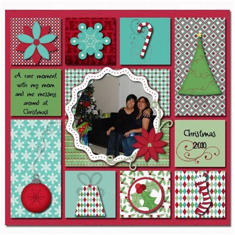 layout design for christmas christmas scrapbook layout scrap pinterest