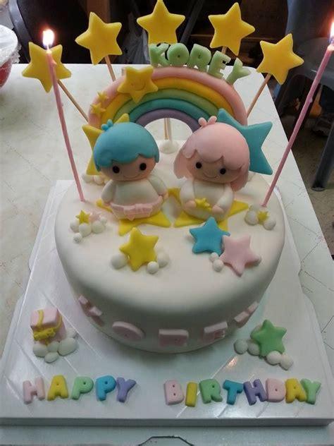 Handcrafted Cakes - handmade birthday cake stars