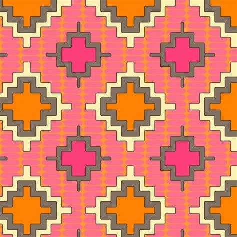 kilim pattern fabric tangerine kilim fabric scrummy spoonflower