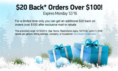 Tigerdirect Gift Card Discount - tigerdirect 20 reward card mail in rebate on any 100 purchase online today only