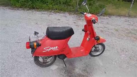 1986 Honda Spree by 1986 Honda Spree Pipe New Parts Speed Run