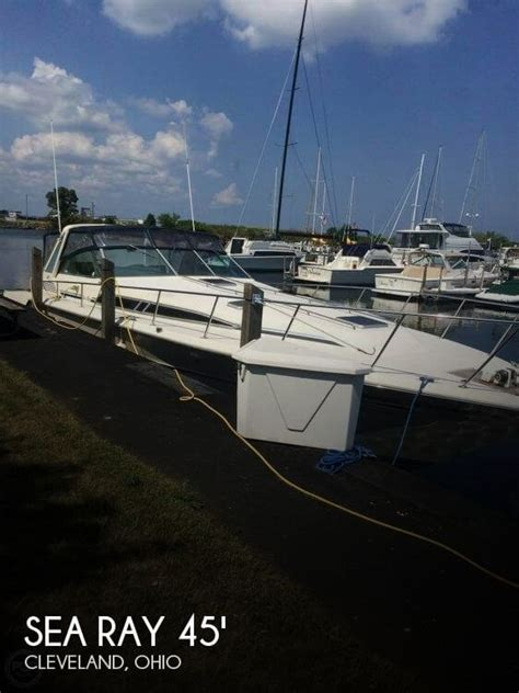 boats for sale cleveland ohio area canceled sea ray 460 express cruiser boat in cleveland