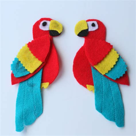 crafts for for pirate parrot crafts find craft ideas
