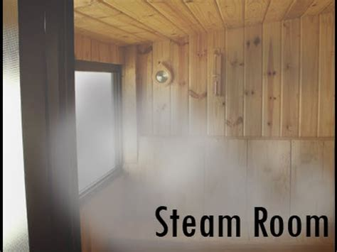 how to make a steam room in your bathroom which is healthier i the sauna or the steam room youtube