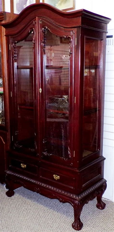 Antique China Cabinet Chippendale For Sale Antiques Com Antique China Cabinets For Sale