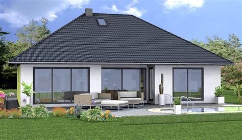 köhnlein massivhaus fassadengestaltung bungalow harzite