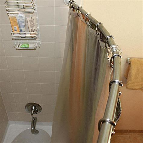moen double shower curtain rod fine moen shower curtain rods gallery bathtub for