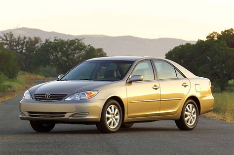 how cars engines work 2004 toyota camry lane departure warning 2002 06 toyota camry consumer guide auto