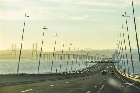 ponte vasco da gama on ponte vasco da gama bild vasco da gama bridge