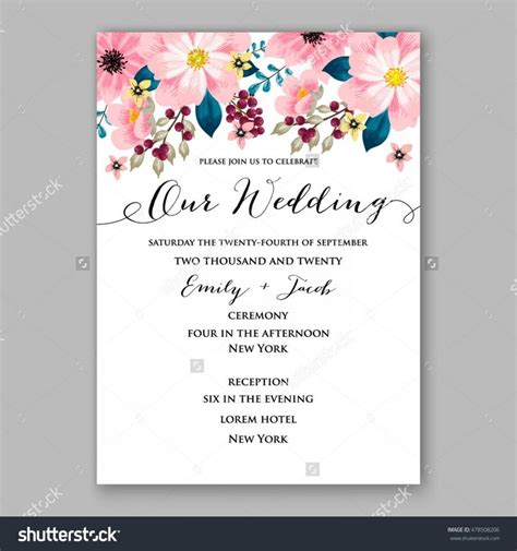 sle of wedding invitation cards wording poinsettia wedding invitation sle card beautiful winter