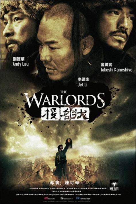 chinese film warlords jet li movies actor hong kong filmography movie