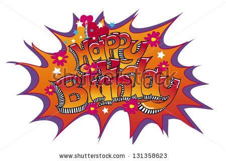 Happy Birthday Sort Of by Happy Birthday Written Sort Graffitistyle On Stock Vector