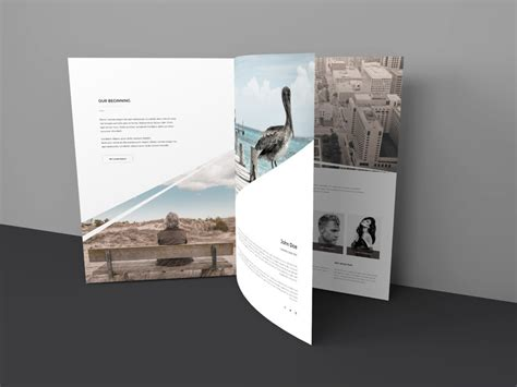 brochure mockup template 40 best catalog brochure psd mockup templates