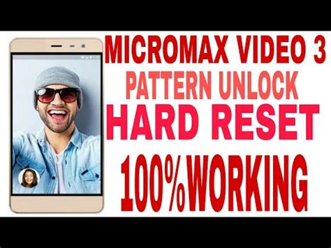 micromax a71 pattern unlock youtube micromax video 3 hard reset pattern unlock 10000 working