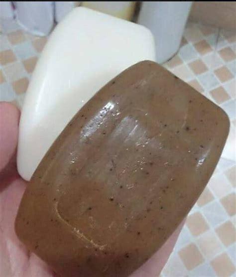 Sabun Mandi Coffee hilangkan parut bau badan cerahkan kulit daki dengan ssbb shoppe farah