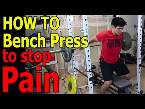 my shoulder hurts when i bench press how to bench press correctly best stretch for shoulder