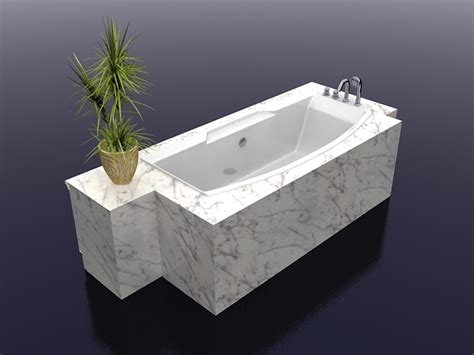 model in bathtub white marble bathtub 3d model 3ds max files free download