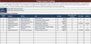 invoice log template invoice tracking template to track your sales and receivables