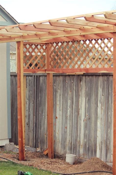diy arbor trellis how to build a grape arbor step by step