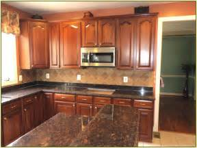 brown granite countertops home design ideas