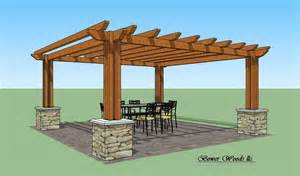 Pergola plans personalise your home by utilizing a woodoperating