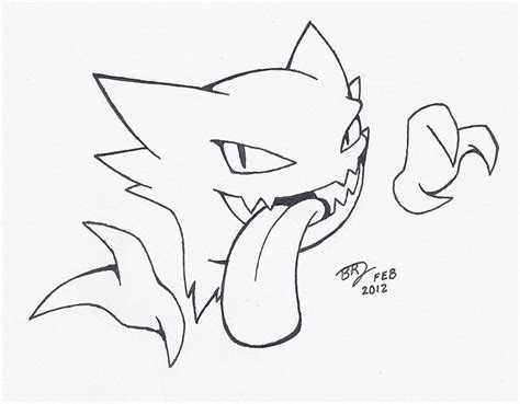 pokemon coloring pages haunter haunter pokemon drawing images pokemon images