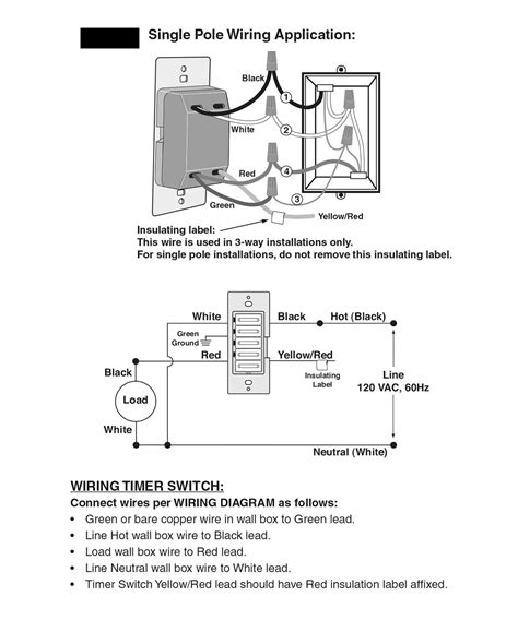 leviton timer switch wiring diagram agnitum me
