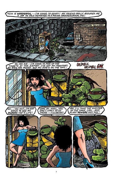Mutant Turtles Classics Volume 8 mutant turtles classics vol 4 takes the team through time preview
