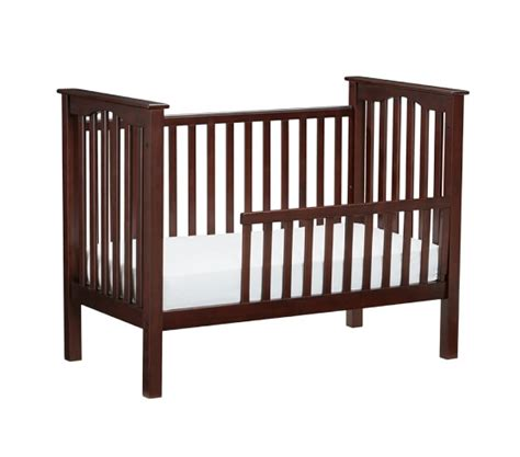 convert crib to toddler bed kendall toddler bed conversion kit pottery barn kids