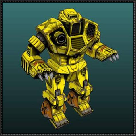 Mechwarrior Papercraft - mechwarrior 4 kodiak free papercraft