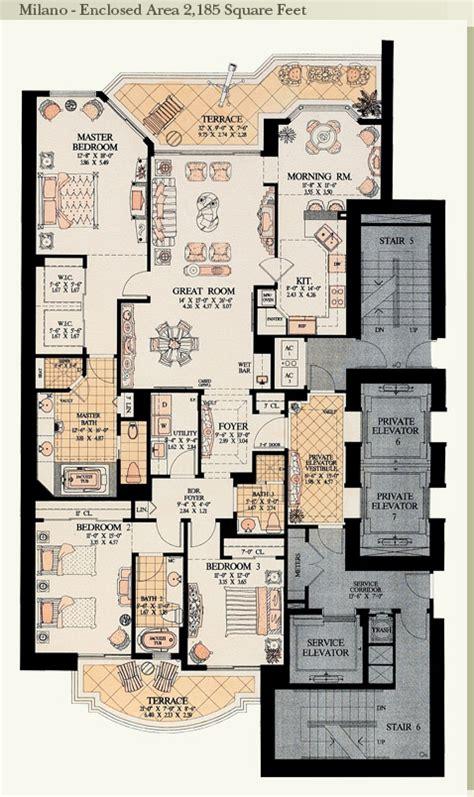 Miami Condo Floor Plans by Acqualina Residences Sunny Isles Beach Miami One Sotheby