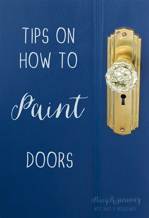 how much do you tip house painters tips on how to paint doors by not just a housewife blog homeright
