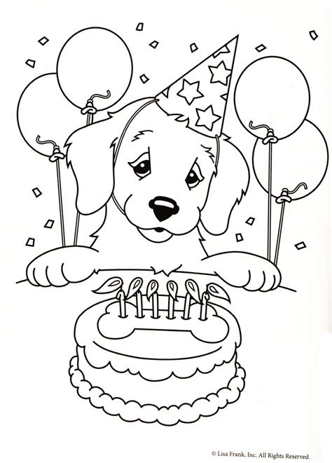 lisa frank coloring pages free printable color me