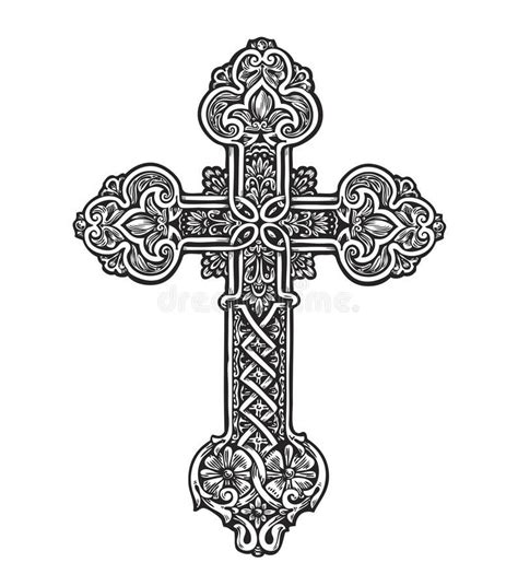 image result for intricate cross idea