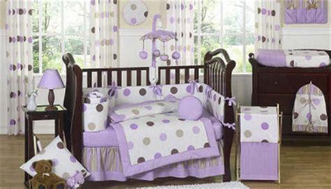 purple brown white polka dots toddler girl comforter purple and brown polka dots baby bedding