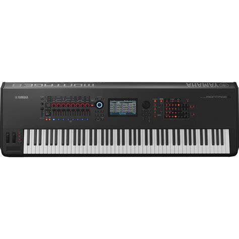 Keyboard Yamaha Montage 8 Yamaha Montage 8 88 Key Workstation Synthesizer Montage8 B H