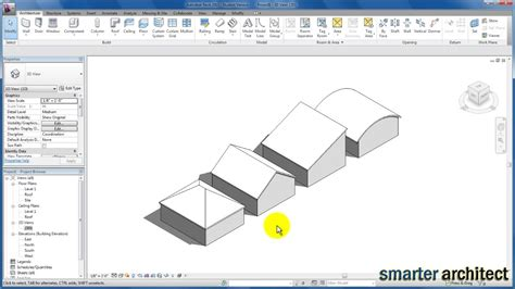 tutorial revit roof revit tutorials roofs youtube