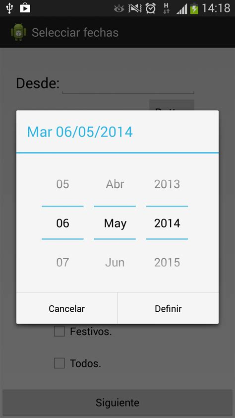 android popup popup selecci 243 n de fecha android techblogsearch