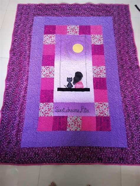 Cat Quilts For Sale by Cat Quilt Baby Quilt Baby Gifts Toddlers Quilt