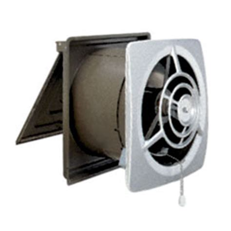 kitchen wall exhaust fan pull chain broan nutone 8110wh utility wall fan 10 quot pull chain